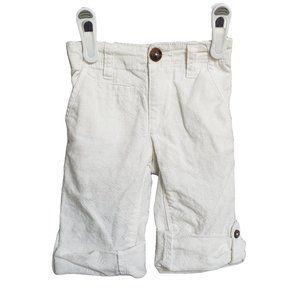OLD NAVY White Summer Pants 12 - 18 mths